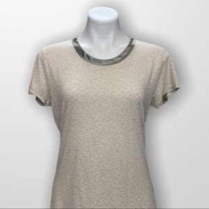 BANANA REPUBLIC Luxe Touch Tee Size Small